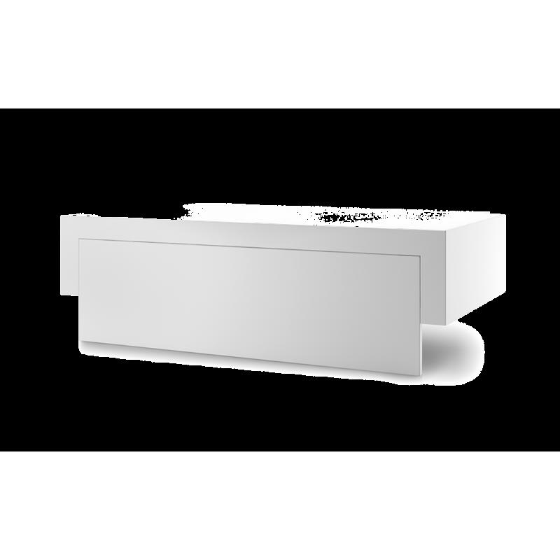 Capot Acier Blanc Chariot Premium 60