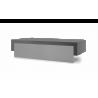 Capot Acier Noir et Gris clair Chariot Premium 75